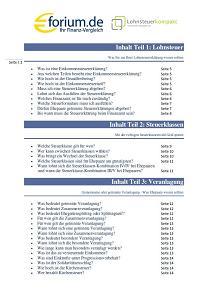 Kostenloses E-Book rund um das Thema Steuererklärung