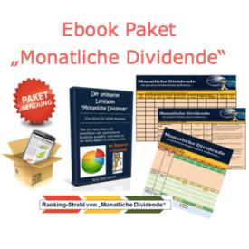 Dividendenhamster Ebook Paket Monatliche Dividende