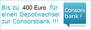 weitere Informationen zum Depotwechsel der Consorsbank