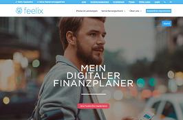 Startseite von Feelix
